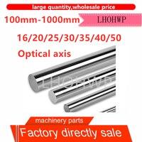 45# steel chrome-plated rod/linear optical axis/soft shaft/piston rod/diameter 16 20 25 30 40 50 length 100-1000mm/polished rod