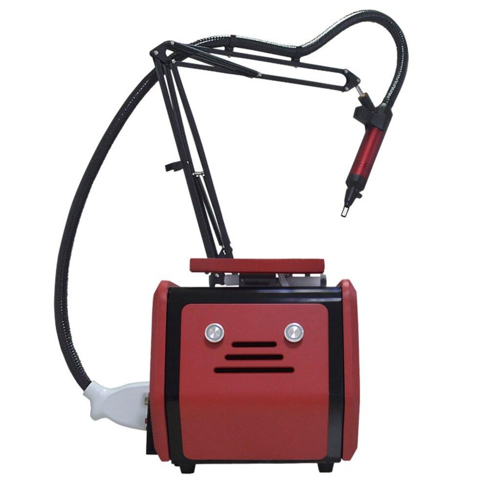 Yjnm 1064nm 532 نانومتر 1320nm جهاز إزالة الوشم بالليزر إزالة الوشم/المنزل استخدام yag الليزر تجديد الجلد