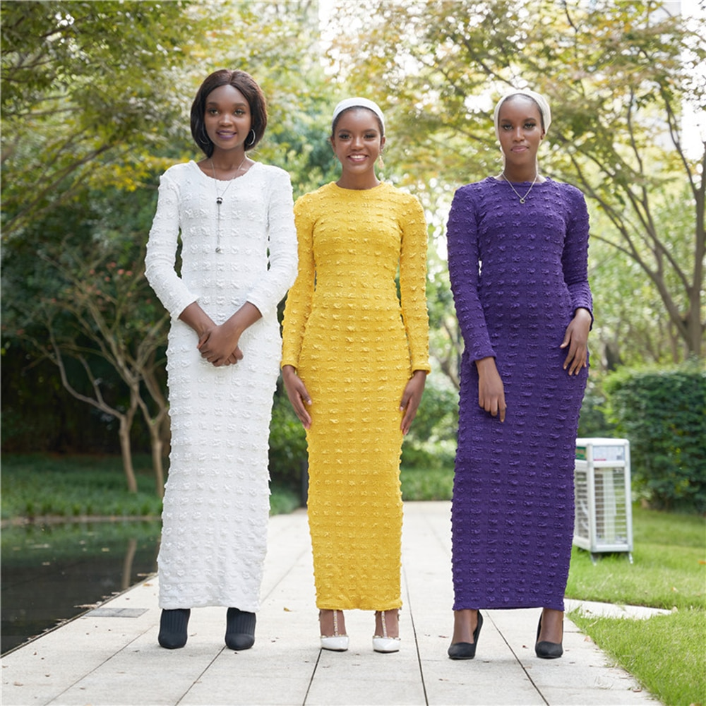 Abaya Dubai Muslim Hijab Dress Turkey Islam Clothing Abayas African Maxi Dresses For Women Vestidos Robe Longue Musulmane Femme
