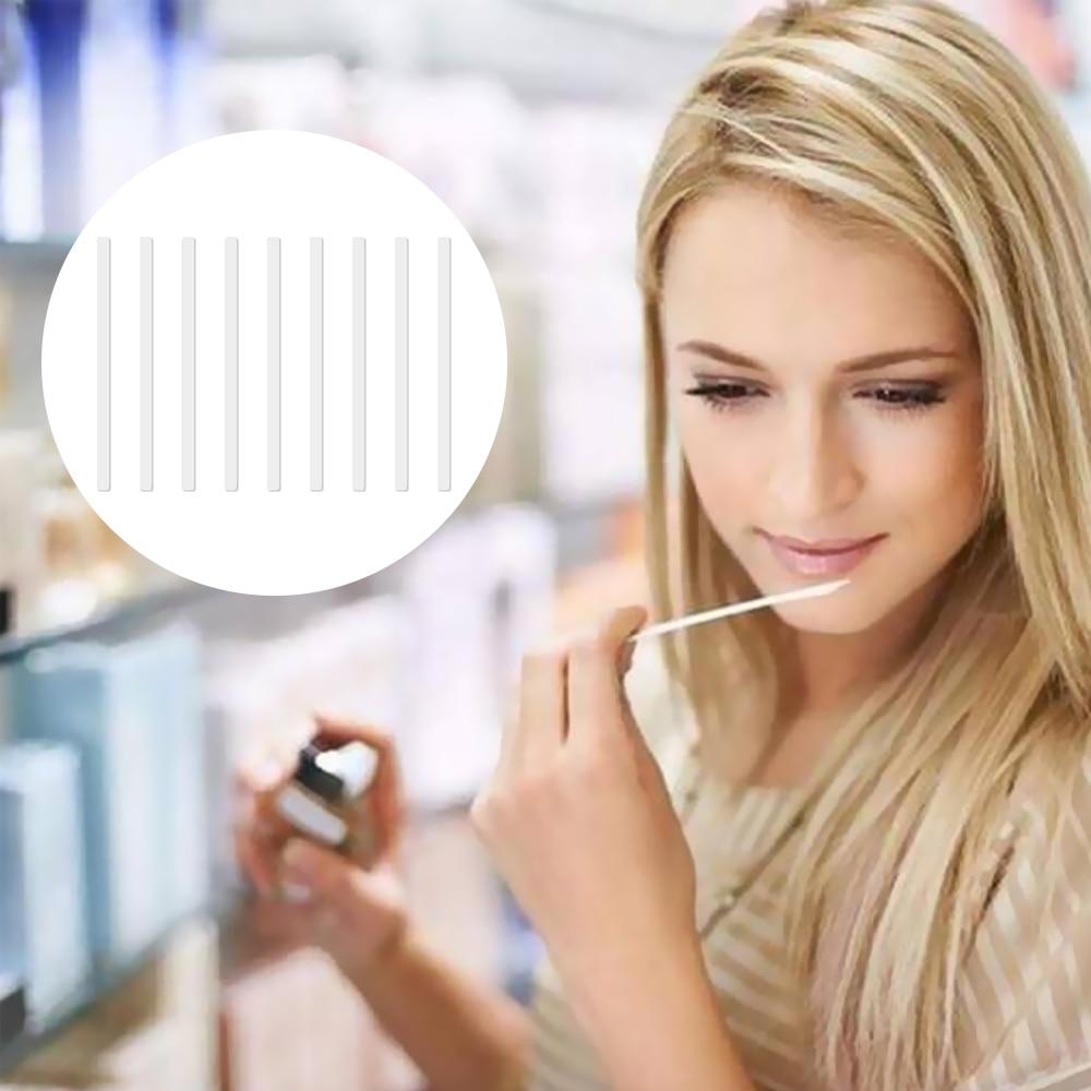 500 Uds tiras de papel de prueba de Perfume fragancia de aromaterapia tiras de papel de prueba de aceites esenciales para Perfume tiras de papel de prueba