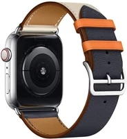 leather strap for apple watch band 44mm 40mm 38mm 42mm single tour watchband bracelet iwatch series 5 3 4 6 se accessories
