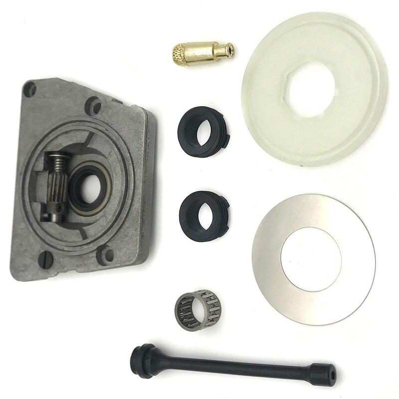 TOP Öl Pumpe Wurm Getriebe Staub Washer Schlauch Filter Kit Fit für HUSQVARNA 61 66 266 268 272 XP 266XP 268XP 272XP Kettensäge Teile