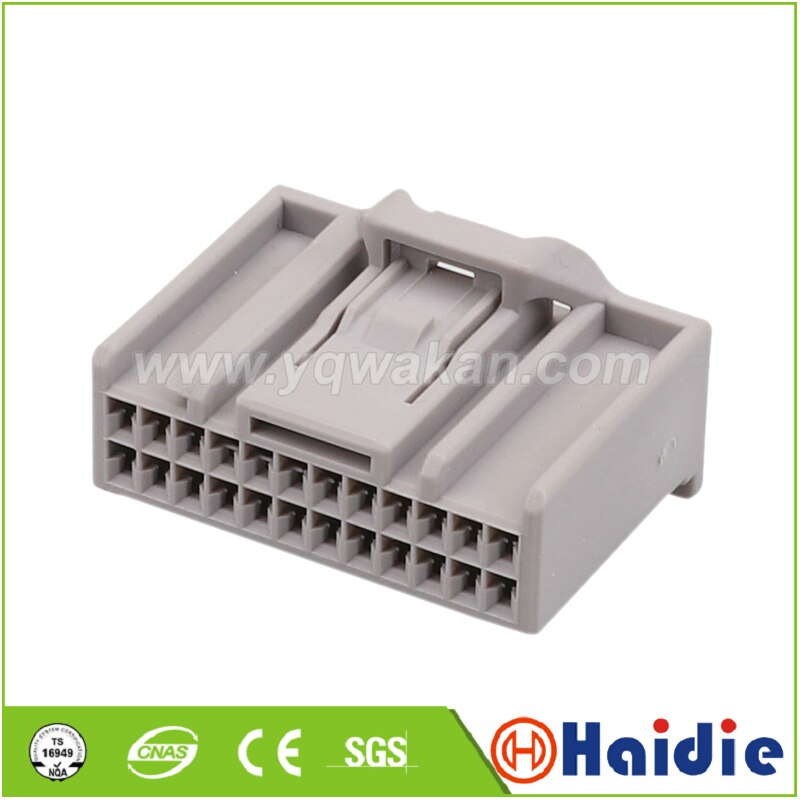 2sets 24pin de enchufes de arnés de cableado cable eléctrico conector de...
