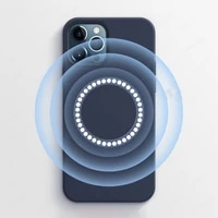 magnetic liquid silicone case with animation for iphone 12 pro max mini mobile phone cases cover for magsafe protection case