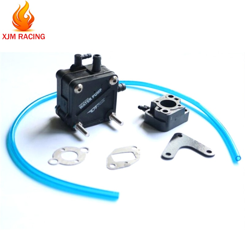 Pompa acqua C/W Isolante Carburatore per il Motore RCMK ZENOAH RC Gas Barca