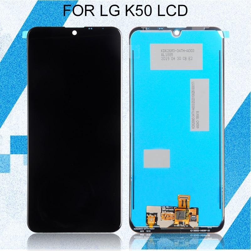 Promoción Catteny Q60 pantalla para LG K50 LCD con Panel táctil digitalizador Asamblea K12 Max pantalla envío gratis + herramientas