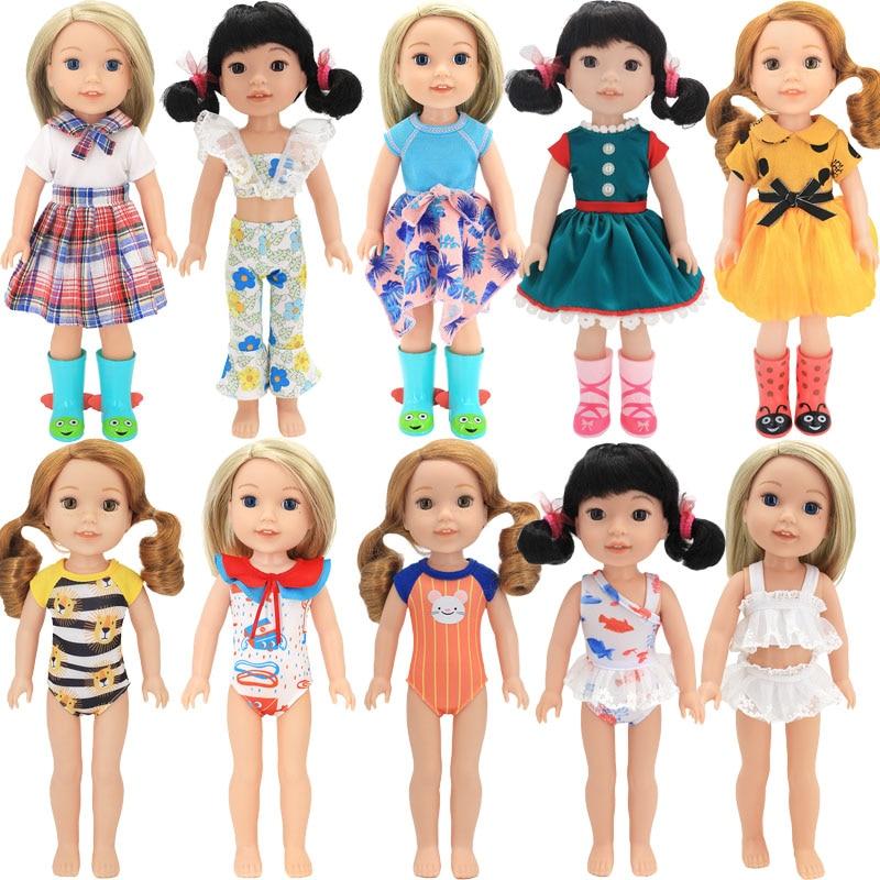 aliexpress.com - Cute Doll Dress Swimsuit Princess Dress For 14.5 Inch Wellie Wisher&32-34 Cm Paola Reina&Nancy&1/4BJD,Dolls Accessories Clothes