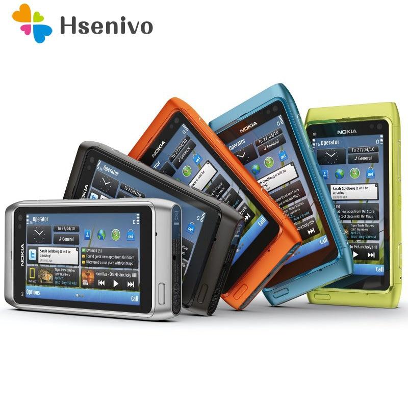 Nokia N8 Refurbished-Original Unlokced Nokia N8 Mobile Phone 3G WIFI GPS 12MP Touchscreen 3.5