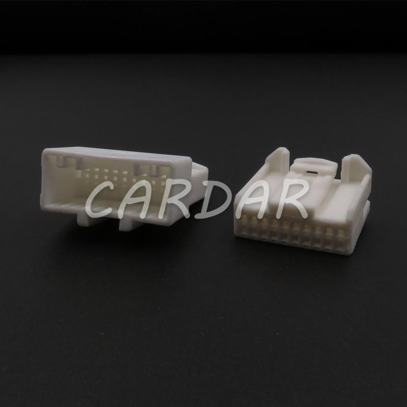 1 комплект, 20 контактов, 1473807-1, Автомобильный CD-проигрыватель, разъем для аудиокабеля для Toyota