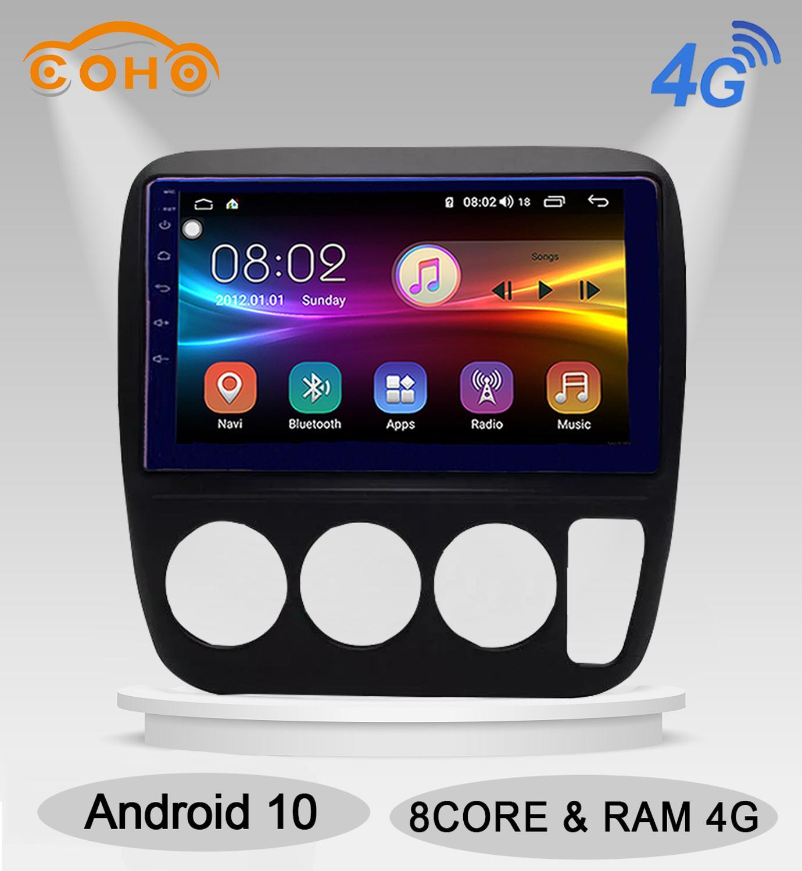 Crv Android 10,0 Octa Core 4 + 64G Gps navegador estéreo Radio Android para Honda Cr-V 1997-2006