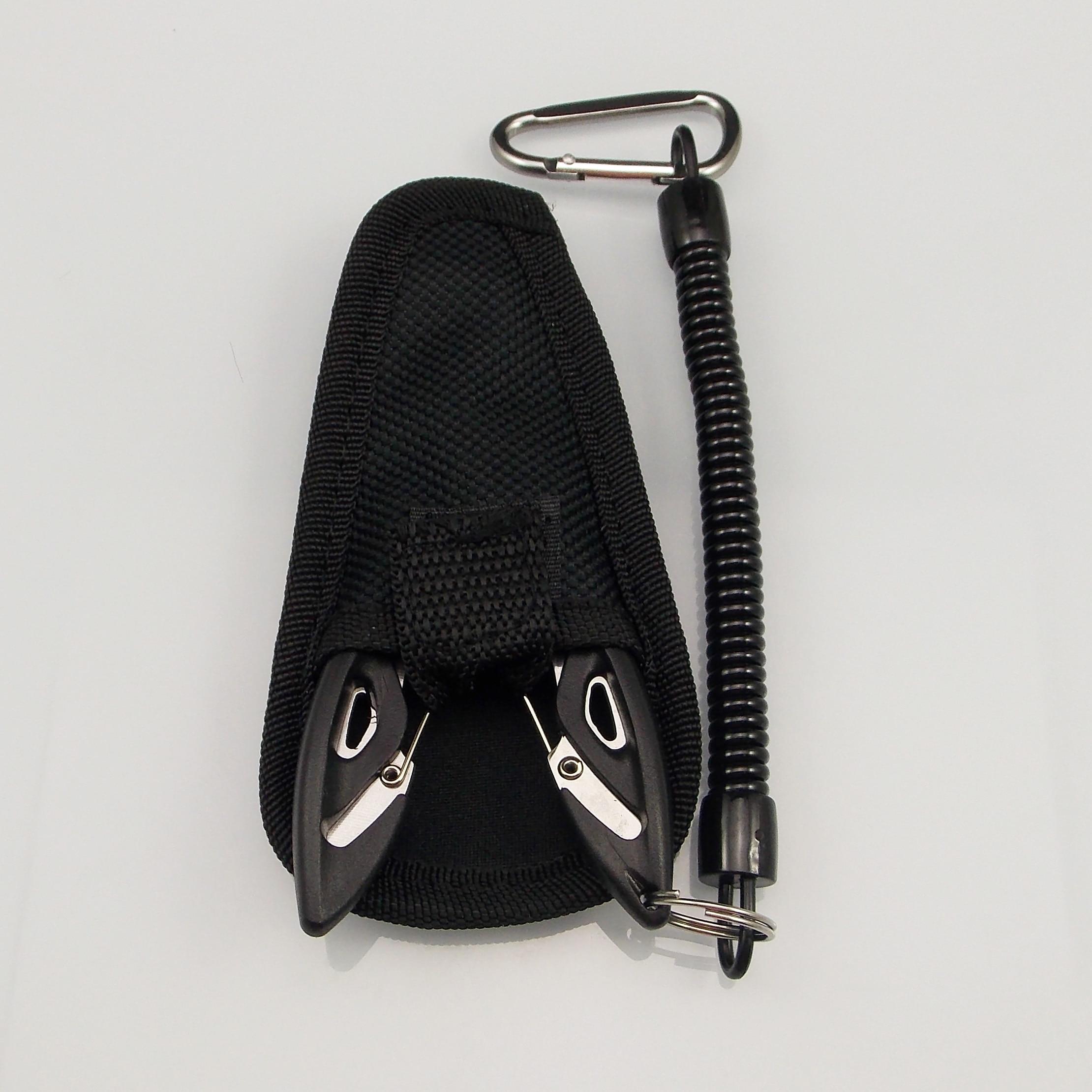KESFISHING Fishing Multifunctional Plier Camping Secure Pliers Clip Lip Grips Fishing Tools