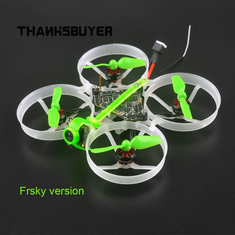 Happymodel Moblite7 1S 75mm Ultra Light Brushless Whoop Tiny Whoop Assembled For Frsky or Flysky Receiver
