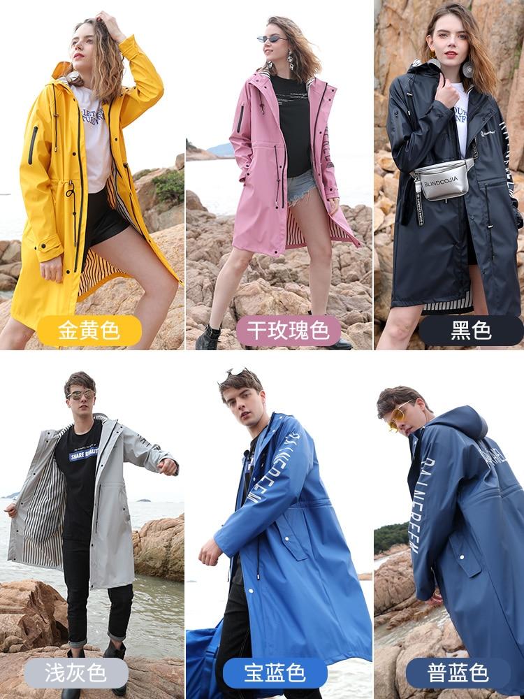 Outdoor Fashion Raincoat Waterproof Cute Hiking Poncho Luxury Raincoat Cycling Rain Protection Gabardina Mujer Poncho BC50YY enlarge