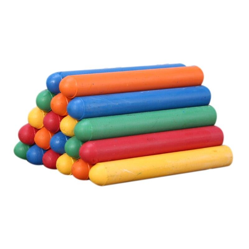 60 Pcs / Batch of Color Dust-Free Chalk Pens Removable Blackboard Marker Pen Stationery Water-Soluble Chalk
