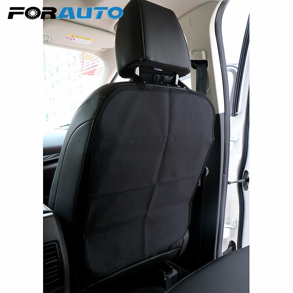 FORAUTO coche antiniños Kick Pad asiento trasero cubierta Protector Anti suciedad alfombra de barro de los niños Baby Kicking Protector de la cubierta del asiento del coche