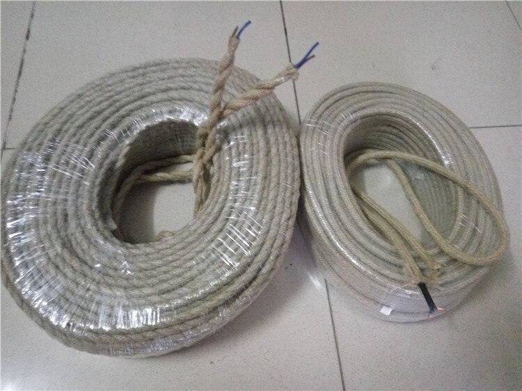 10 m/lote al por mayor, cable eléctrico Conductor de cobre de tela...
