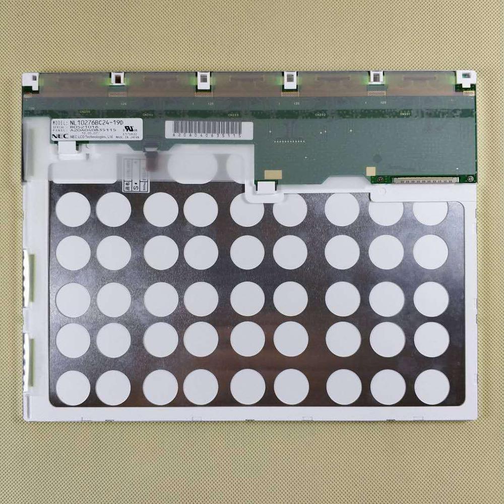 Tela táctil médico industrial do tela lcd de 12.1 polegadas NL10276BC24-19D