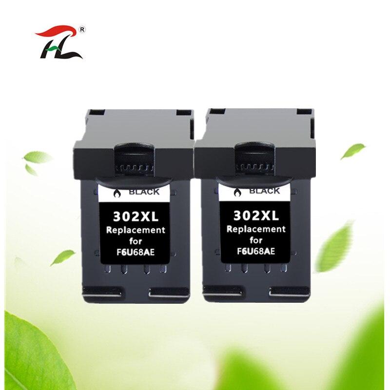 Compatible con 302XL cartucho de tinta para HP 302 XL para hp302 para HP Deskjet serie 2130, 2135, 1110, 3630, 3632 Officejet 3830 de 3834 a 4650