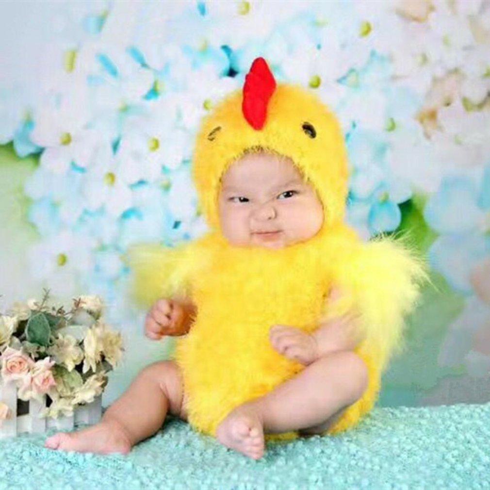 Реквизит для фотосъемки животные цыпленок костюм женская шляпа и боди студийный фото костюм для вечеринки реквизит для фотосъемки подарок