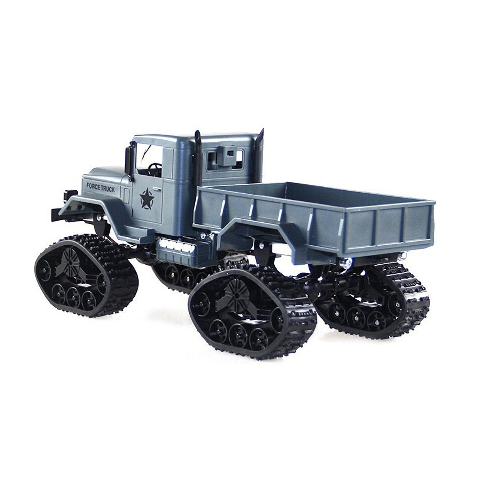 RC Cars 1/16 2.4G 4WD RC Car Brushed Off-road Truck Snow Tires with Front Light Remote Control Car for Children Toys Xmas Gifts enlarge