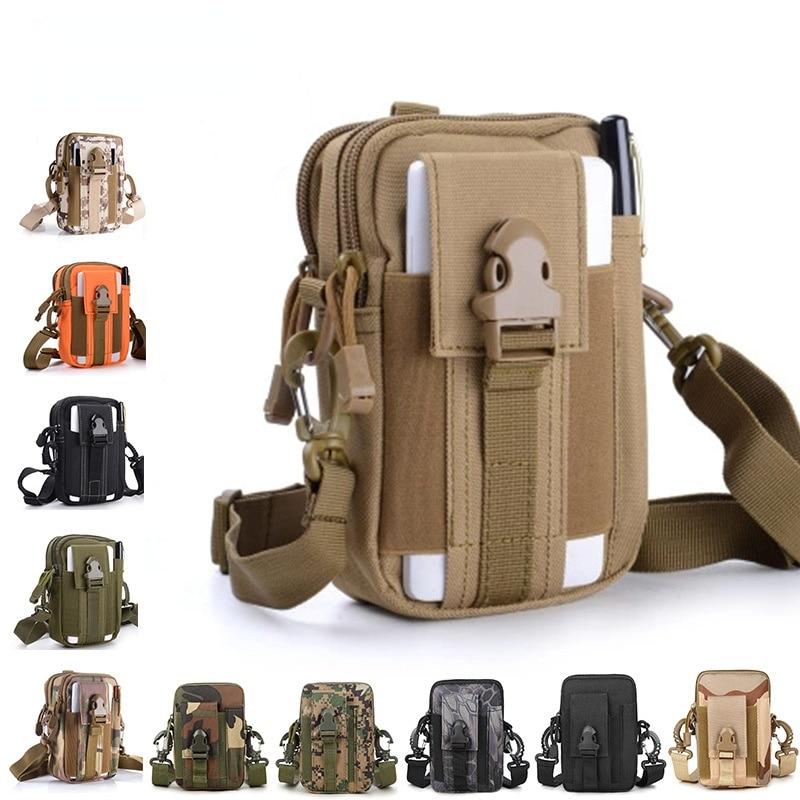 Tactical Running Belt Waist Bag Outdoor Sports Men and Women off-Road Camping Mobile Phone Pannier B