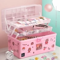 childrens hair accessories jewelry box cute girl head rope storage rack princess baby hair accessories jewelry storage box