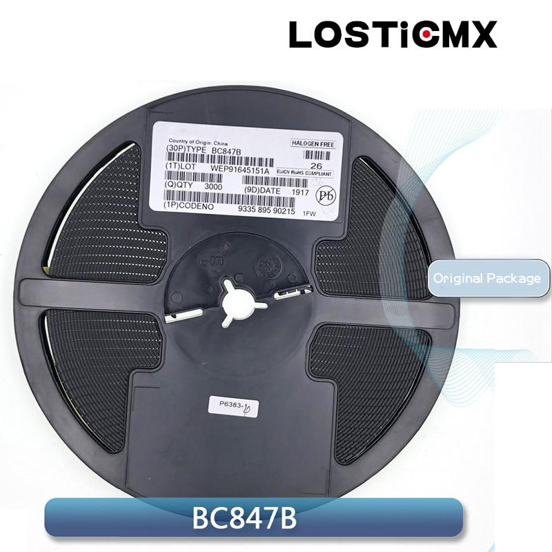 (CHIPERA) BC847B SOT23 BC847 SOT SMD 847B 1F 0.1A/45V NPN SOT-23 Transistor