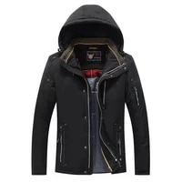 jacket winter 2021 new mens thick cotton high quality hatless winter down jacket with zipper