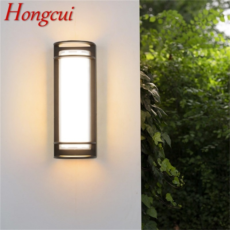 Hongcui Wall Sconces Light Outdoor Classical LED Lamp Waterproof IP65 Home Decorative For Porch Stairs