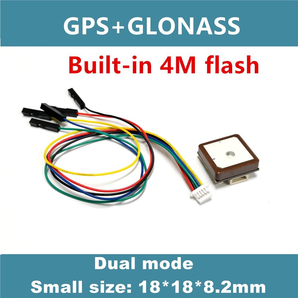 4M FLASH GNSS GPS  module,GPS receive antenna,neo m8n Solution,GNSS module,Dual GPS Module,UART TTL level,GG-1802 Small size