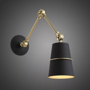 Modern LED Wall Lamp Industrial Style Decor Lamps for Bedroom Bedside Lighting Cafe Restaurant Decoration Bathroom Vanity Lights