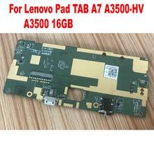 Placa base de trabajo Original LTPro probada para tableta Lenovo Pad A7 A3500 A3500H A3500HV placa base Tablero Principal circuitos de tarjeta