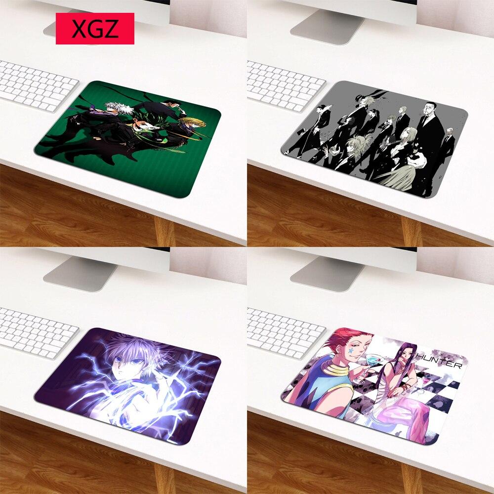 Коврик для мыши XGZ Anime Hunter X Hunter 29X25, игровой коврик для мыши, коврик для клавиатуры ноутбука, маленький коврик для мыши, Настольный коврик для ...