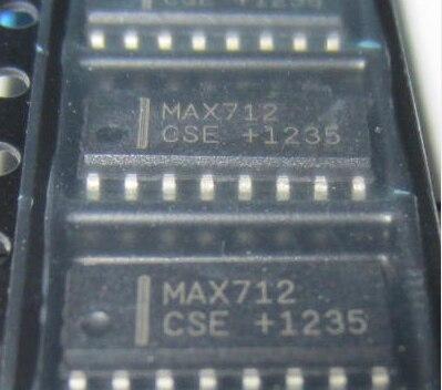 1pcs/lot MAX712CSE MAX712 SOP-16 In Stock