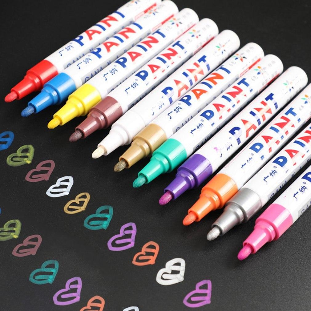 dropshipping-della-pittura-ambientale-della-gomma-del-battistrada-della-gomma-dell'automobile-della-penna-dell'indicatore-permanente-di-gomma-impermeabile-bianca-di-12-colori