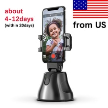 Apai Genie Auto Smart Telefoon Houder Selfie Schieten Gimbal 360 ° Face Tracking Object Stick Photo Vlog Camera Live Video record