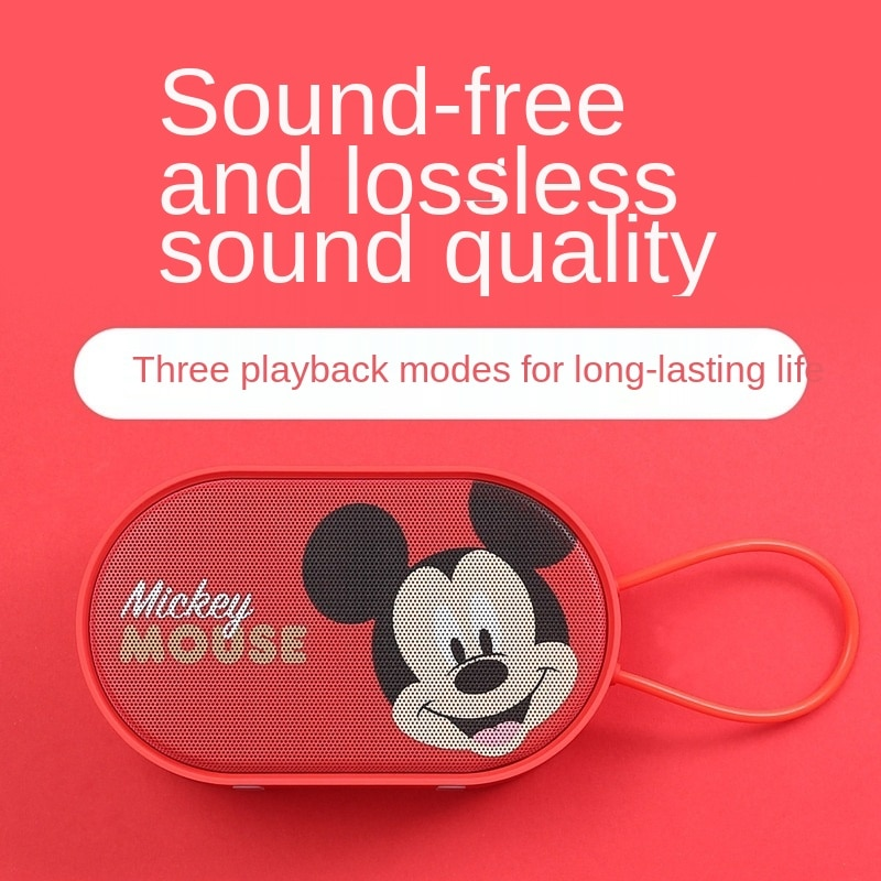 Genuine Disney Gift Set Power Bank One-to-Three Retractable Data Cable Wireless Bluetooth Audio Gift Cute Mini Gift Couple Gift enlarge