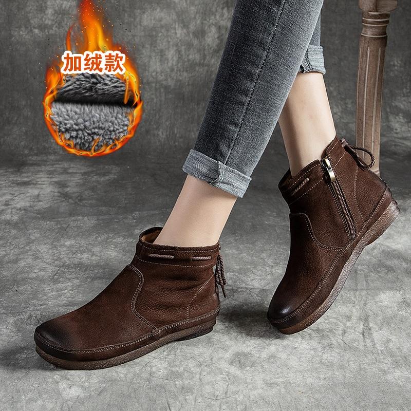 موضة أحذية النساء موضة شقة الشتاء أحذية النساء جديد تنفس الجولة النساء الأحذية الفاخرة الاحذية
