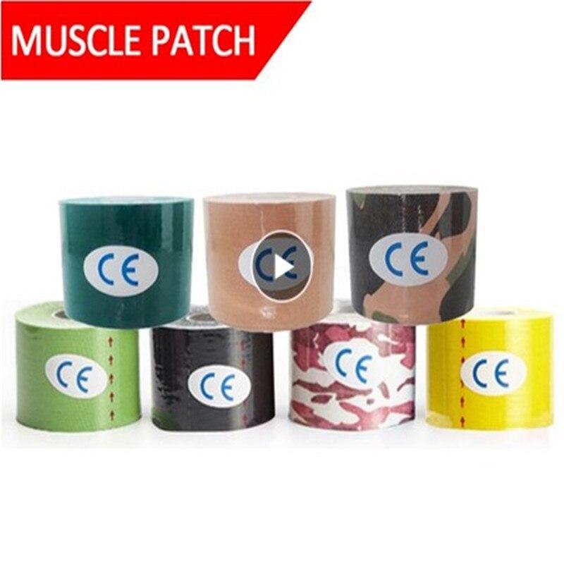 Tijeras cinta de kinesiología atlética cinta protector muscular directo deporte recuperación Fitness vale la pena Kneepad apoyo Atlético sellador