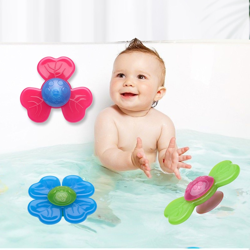 Relief Stress Educational Fingertip Gyro Toys Infant Gifts Cartoon Fidget Spinner Cube Kids Funny Toys Colorful Insect Gyro Toy  - buy with discount