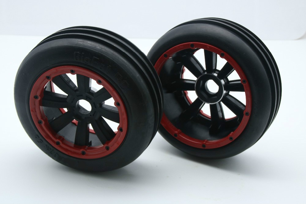 Nuevo juego de ruedas de doble hoja para 1/5 Baja 5b HPI Madmax KM ROVAN 5b Ss