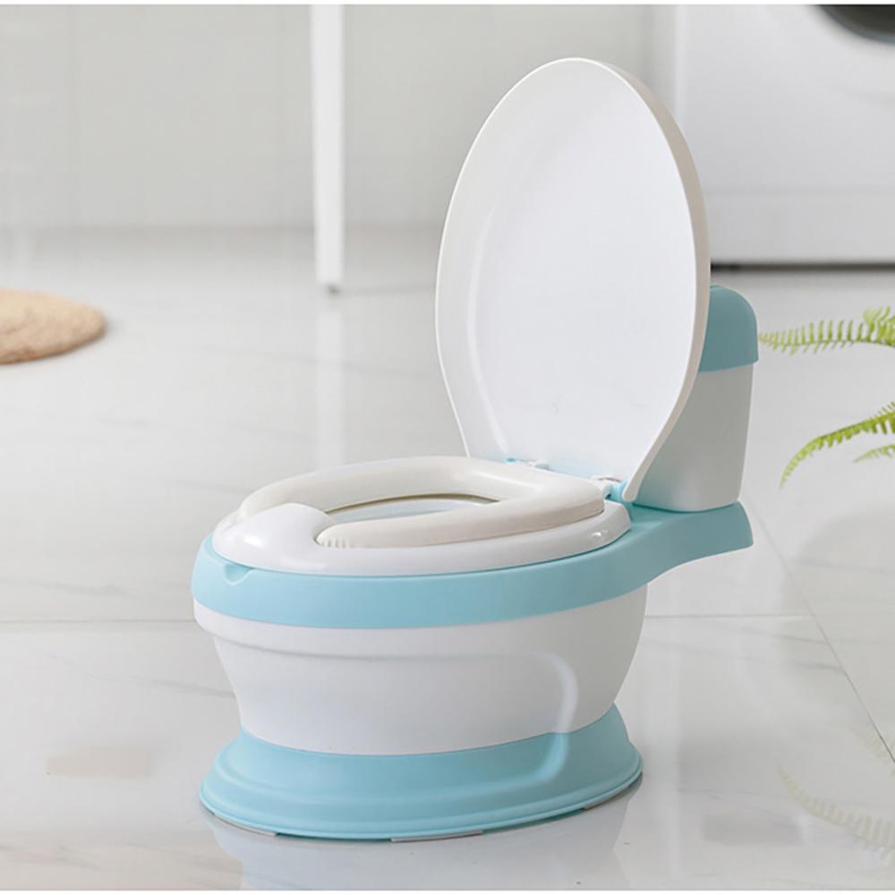 Alegria bebê meu potty bebê criança treinamento potty com amortecido anel de assento toalete portátil orinal portatil crianças potty formação assento #