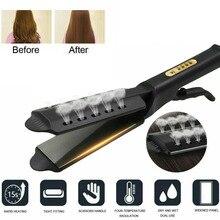 Hair Straightener Four-gear temperature adjustment Ceramic Tourmaline Ionic Flat Iron Hair Straighte
