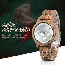 BOBO oiseau Simple bois femmes montres reloj mujer mis5 Quartz mouvement dames horloge personnalisé montre-bracelet cadeau avec boîte en bois B-P18