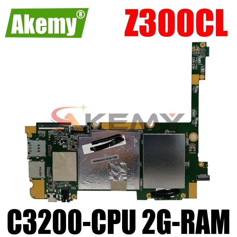 جديد! الأصلي ل For Asus ZenPad 10 Z300CL أقراص الكمبيوتر المحمول اللوحة الرئيسية لوحة المنطق mianboard ث/C3200-CPU 2G-RAM 16G SSD