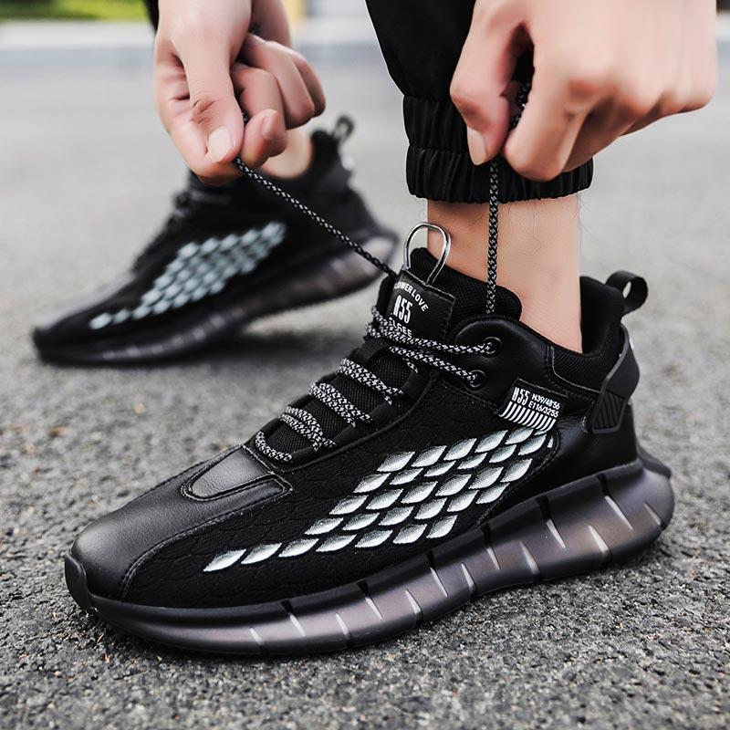 Zapatillas deportivas de suela de goma para hombre, E-711 de Deporte de...