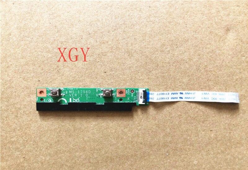 الأصلي ل MSI MS-1756 MS-1756D VER:1.0 GE70 التبديل زر مفتاح المجلس