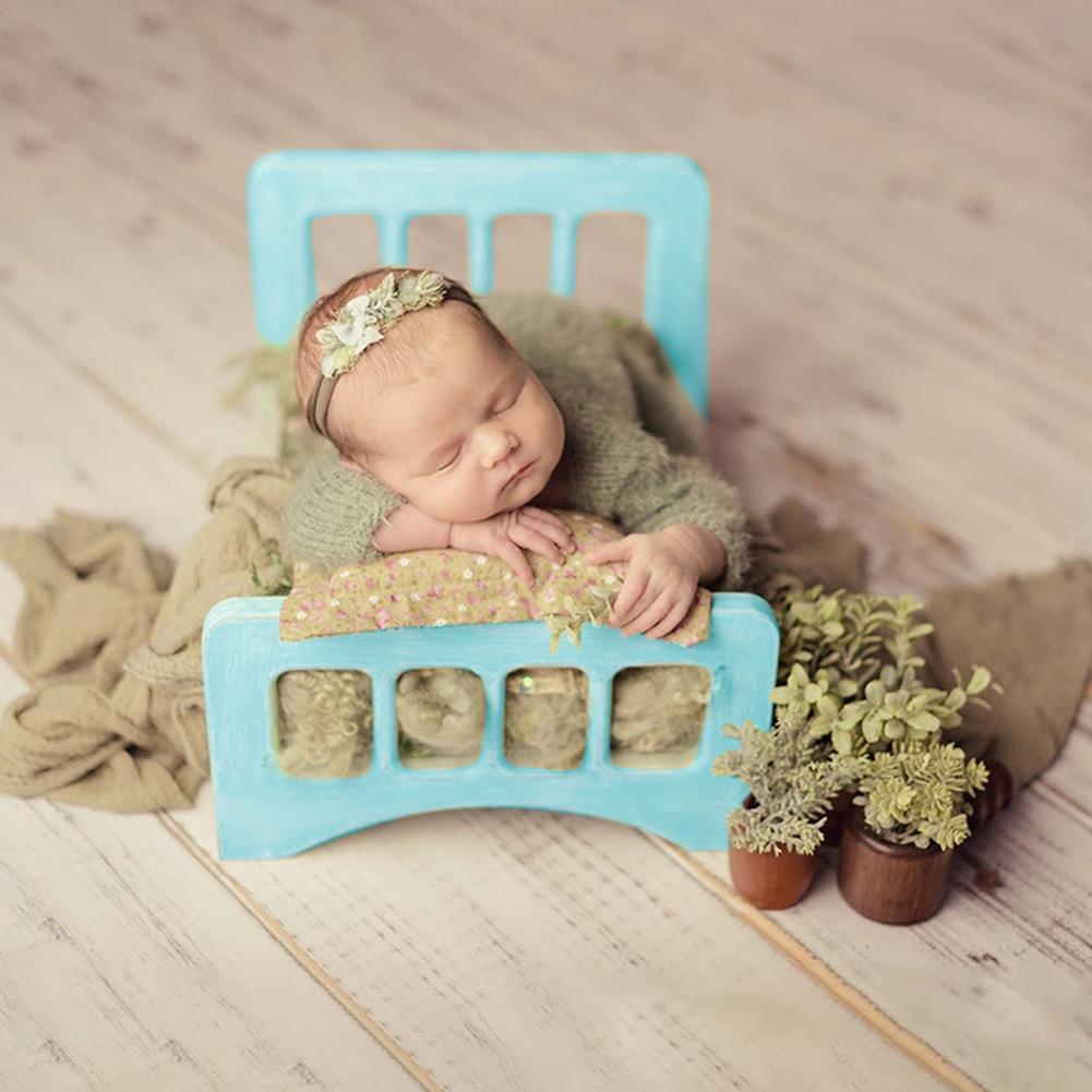 Реквизит для фотосъемки новорожденных винтажный деревянный стул корзина для кровати кроватка с диваном для детской фотосъемки мебель подъемные кровати с диваном