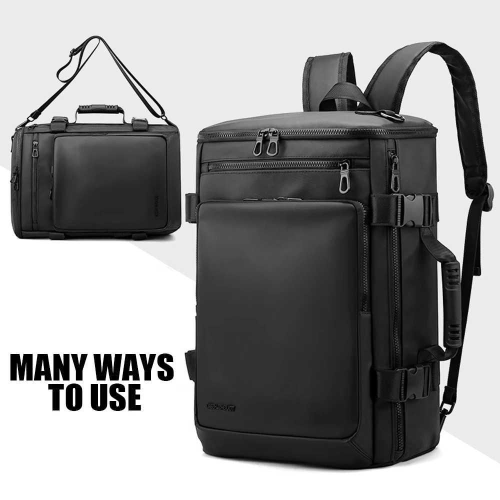 حقيبة ظهر جديدة مضادة للمياه للرجال والنساء حقيبة ظهر للكمبيوتر المحمول سعة كبيرة حقيبة ظهر مدرسية غير رسمية حقيبة سفر
