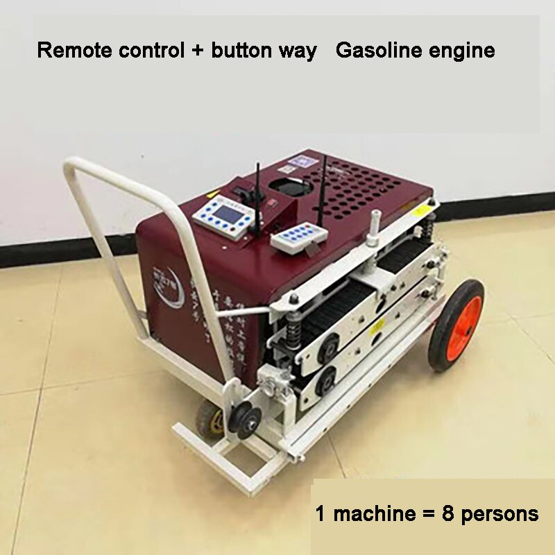 Remote Control Gasoline Engine Cable Tractor Optical Fiber Wire Cable Laying Automatic Drawing Machine